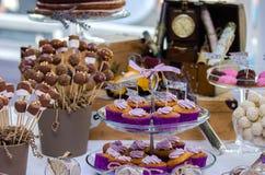 Barra de los dulces Foto de archivo