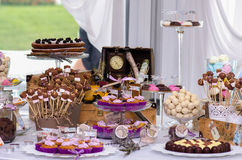 Barra de los dulces Imagen de archivo libre de regalías