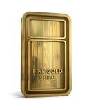 Barra de ouro  Foto de Stock Royalty Free