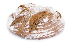 Barra de pan (aislada en blanco) Imágenes de archivo libres de regalías