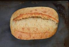 Barra de pan cocida fresca Imagen de archivo libre de regalías
