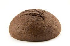 Barra de pan grande aislada en blanco Fotografía de archivo