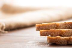 Barra de pan rústica hecha en casa Foto de archivo libre de regalías