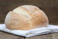 Barra de pan recientemente cocida de pain de campagne del francés Imagen de archivo libre de regalías
