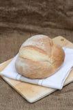 Barra de pan recientemente cocida de pain de campagne del francés Foto de archivo