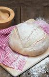 Barra de pan recientemente cocida de pain de campagne del francés Imagen de archivo