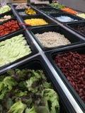 Barra de salada Imagens de Stock Royalty Free