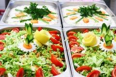 Barra de salada Imagem de Stock Royalty Free