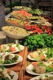 Barra de salada Imagens de Stock