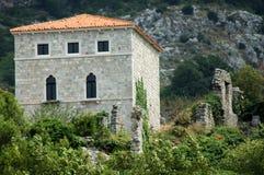 Barra de Stari, la ciudad de las Edades Medias Foto de archivo libre de regalías