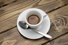 Barra del café express del café Imagenes de archivo