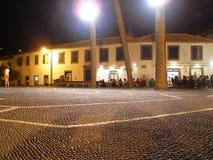 Barra del café por noche Fotos de archivo libres de regalías