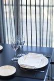 Barra del café del restaurante en hotel de lujo Foto de archivo