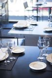 Barra del café del restaurante en hotel de lujo Imagen de archivo libre de regalías
