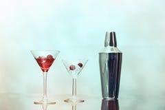 Barra del cocktail Fotografia Stock Libera da Diritti