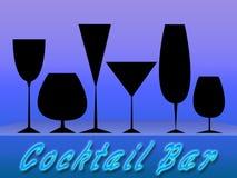 Barra del coctel (01) Imágenes de archivo libres de regalías
