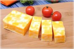 Barra del formaggio fotografia stock libera da diritti