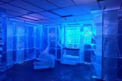 Barra del hielo Imágenes de archivo libres de regalías