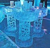Barra del hielo, Barcelona Imágenes de archivo libres de regalías