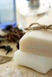 Barra del jabón con fragancia Imagen de archivo