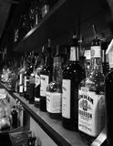 Barra del liquore Fotografia Stock Libera da Diritti