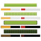 Barra del progreso ilustración del vector