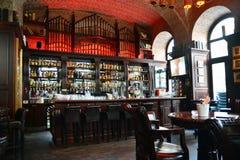 Barra del pub a Vienna Fotografie Stock