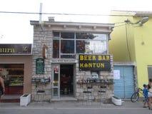 Barra della birra Fotografie Stock Libere da Diritti