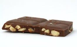 Barra della mandorla e del cioccolato Fotografia Stock