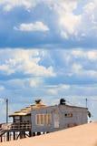 Barra della spiaggia Fotografia Stock