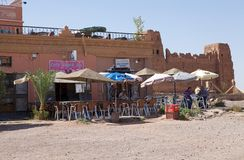 Barra di berber del Marocco Fotografia Stock Libera da Diritti