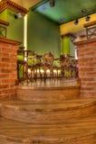 Barra di caffè ed interiore del Pub Fotografia Stock