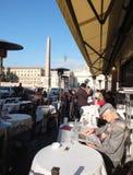Barra di caffè italiana immagini stock