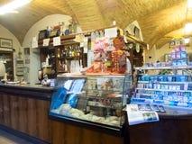 Barra di caffè italiana Immagini Stock Libere da Diritti