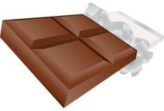 barra di caramella del cioccolato 3D Immagine Stock