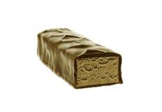 Barra di caramella del cioccolato Fotografie Stock