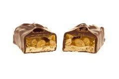 Barra di caramella del cioccolato Fotografia Stock