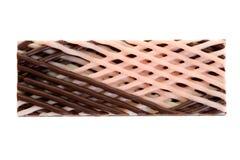 Barra di caramella della fragola del cioccolato Fotografia Stock