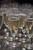 Barra di Champagne Fotografie Stock Libere da Diritti