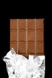 Barra di cioccolato Immagine Stock