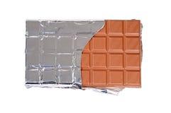 Barra di cioccolato Fotografie Stock Libere da Diritti