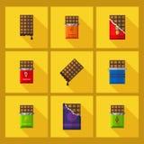 Barra di cioccolato Immagini Stock Libere da Diritti