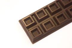 Barra di cioccolato isolata Immagini Stock