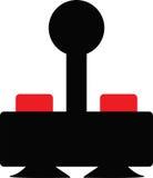 Barra di comando di gioco di Oldschool Immagini Stock Libere da Diritti