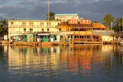 Barra di fama mondiale di Tiki Fotografia Stock Libera da Diritti