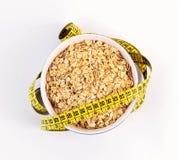 Barra di forma fisica dei cereali per la dieta Immagine Stock Libera da Diritti