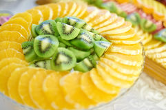 Barra di frutta Fotografia Stock Libera da Diritti