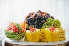 Barra di frutta Immagine Stock Libera da Diritti