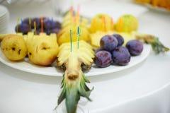 Barra di frutta Fotografie Stock