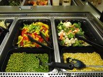 Barra di insalata Fotografie Stock Libere da Diritti